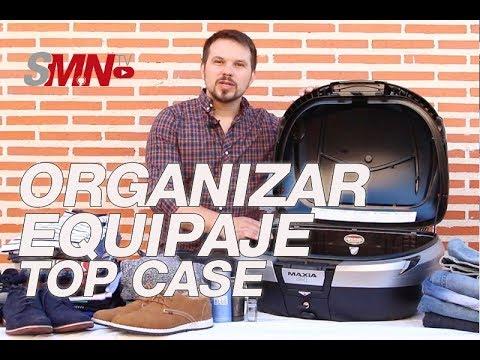 """¿Cómo meter todo nuestro equipaje en un top case de moto"""" [FULLHD]"""