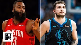 James Harden is the NBA MVP, Luka Doncic is the Rookie of the Year – Jalen Rose | Get Up!
