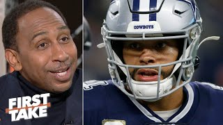 Stephen A. doesn't trust the Cowboys to make the playoffs | First Take