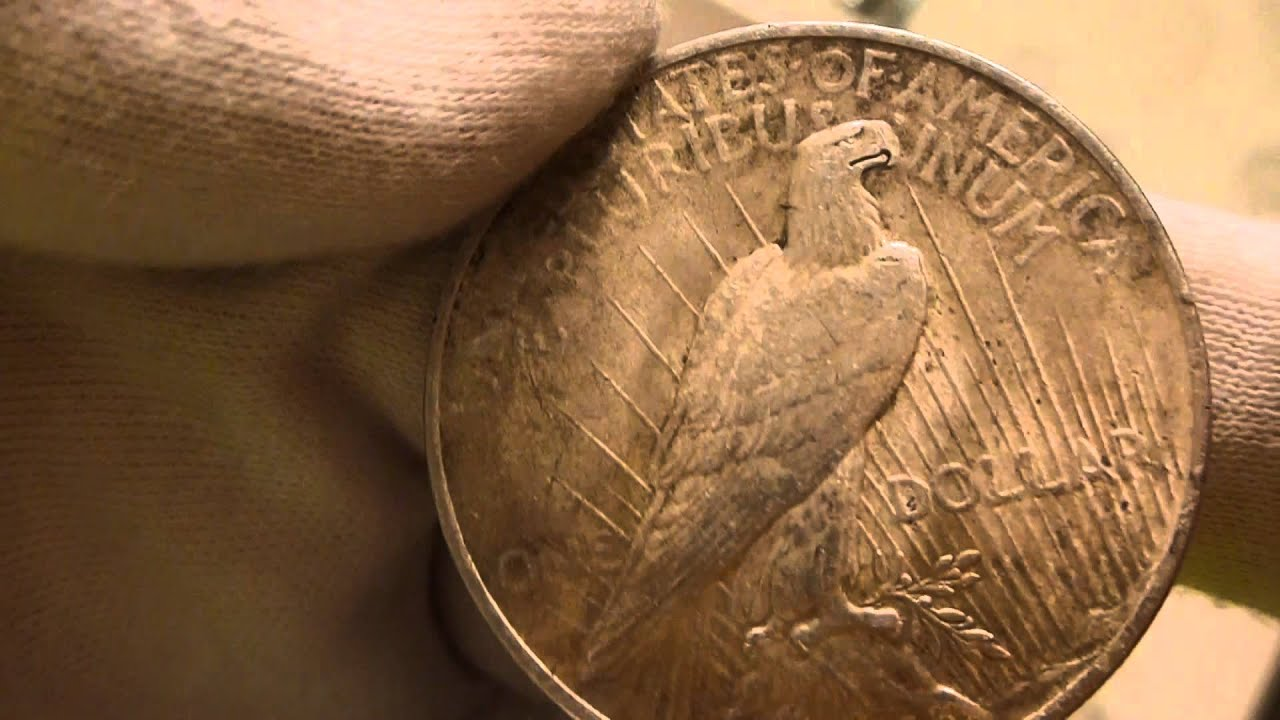 1922 Peace Silver Dollar Coin Review Youtube