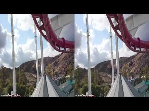 Ninja (3D On-Ride) Six Flags Magic Mountain