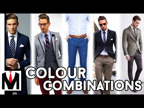 Best Clothing Colour Combinations For Men | 2016/7 Best Looks