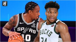 San Antonio Spurs vs Milwaukee Bucks - Full Game Highlights | July 23, 2020 | 2019-20 NBA Season