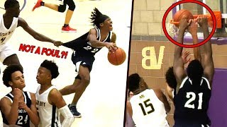 Chino Hills NEW PG Anthony Bell FLEXING VS Boogie Ellis! Big O Dunks On His OWN TEAMMATE! 😂