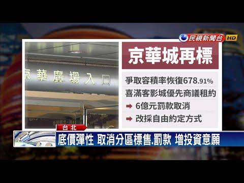京華城再標售 條件放寬底價最後公布-民視新聞