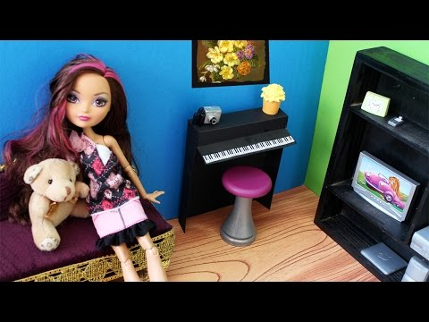 How to make a Doll Piano