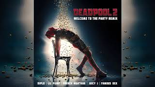 Diplo, Lil Pump, Juicy J, Famous Dex & French Montana - Welcome To The Party (Remix)[Official Audio]