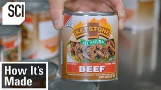 How Factories Produce Canned Meat | How It's Made