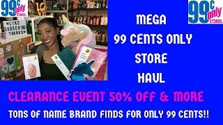 Mega 99 Cents Only Store Haul 3/25/19~Awesome Clearance Finds, Stationery, Toys, Decor Beauty & More