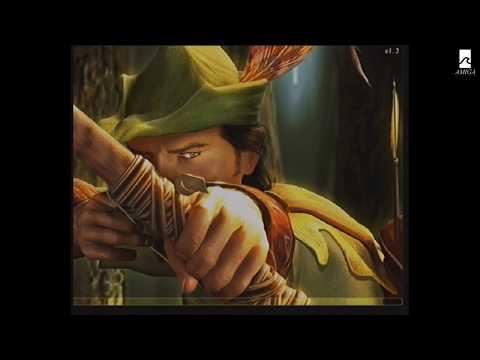Jugando al Robin Hood en Castellano desde MorphOS