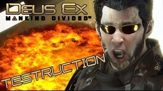 Vidéo-Test : Les défauts de Deus Ex: Mankind Divided