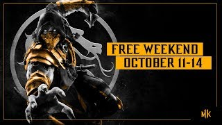 Mortal Kombat 11 is free to play this weekend