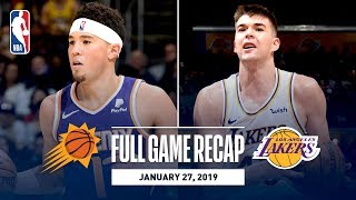 Full Game Recap: Suns vs Lakers | Ivica Zubac Leads Los Angeles With An Impressive Double-Double