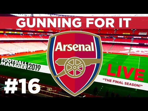 GUNNING FOR IT | PART 16 LIVE | WINNING IS EVERYTHING | Football Manager 2019