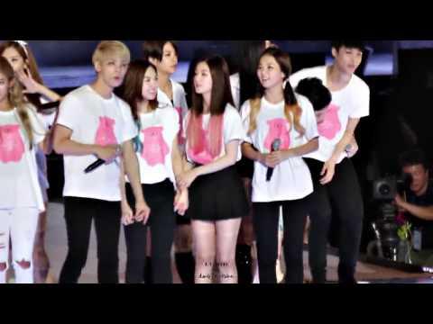 [FANCAM] 140815 SMTOWN Concert Ending- Irene (Red Velvet).