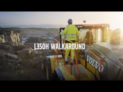 Volvo L350H wheel loader: Smarter, faster, tougher