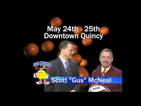 Macker promo Gus & Ben 2014 Quincy, IL Gus Macker Tournament