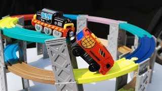 Box Full Of Toys Thomas and Friends, Build Viaduct, Subway Tunnel, Brio Train,  Vehicles For Kids