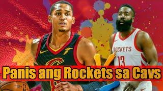 Tinalo ng Cavs ang Rockets! | Jordan Clarkson vs James Harden Match-up Highlights