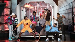 Subway Dancers Amaze with Fresh Prince Remix Routine