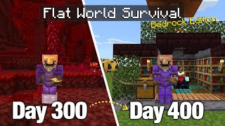 I Survived 400 Days on a Flat World with Nothing but... a Bonus Chest