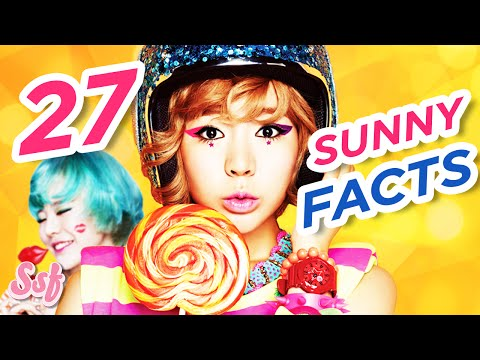27 All About SUNNY Facts - Girls' Generation (SNSD) Video l @Soshified