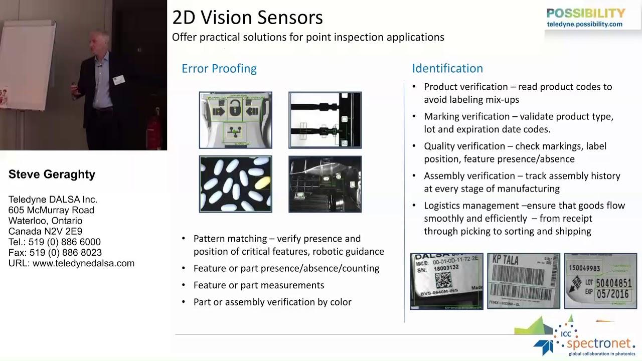 Embedded Vision für die Industrie – Anforderungen, Unterschiede und Hilfestellungen - Technologieforum Bildverarbeitung 2017