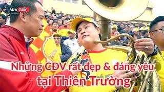 CĐV Nam Định & những câu chuyện rất đẹp & đáng yêu tại Thiên Trường