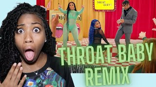 THROAT BABY REMIX | REACTION