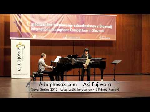 Aki Fujiwara - Nova Gorica 2013 - Lojze Lebič: Invocation - à Primož Ramovš