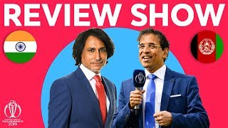The Review - India v Afghanistan | With exclusive Mohammad Shami Interview | ICC Cricket World Cup