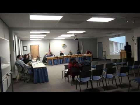 Town of Plattsburgh Planning Board Meeting  1-21-20