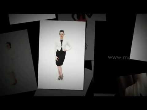 Tuxedo Bolero Jacket | Malene Grotrian Design