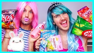 AMERICAN GIRLS TRY JAPANESE CANDY!