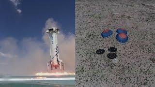 New Shepard launch & landing, April 2018