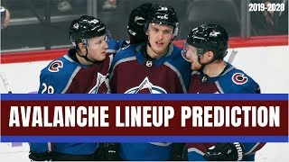 Predicting the Colorado Avalanche Opening Night Lineup | NHL 2019-2020 Season