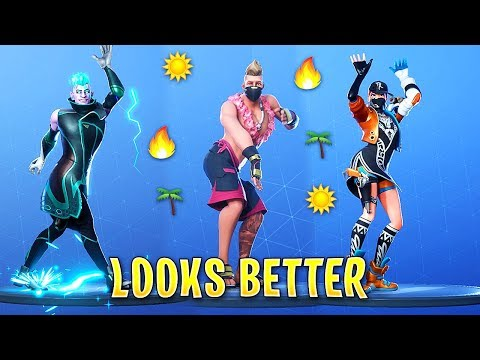 TOP 100 FORTNITE DANCES LOOKS BETTER WITH THESE SKINS