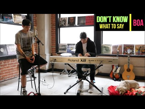 BOA – Don't Know What To Say (Cover) - Amber (엠버)