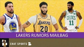 Lakers Rumors: Anthony Davis Trade, Klay Thompson, Sign Kyrie Irving & #4 Overall Pick | Mailbag