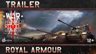British tanks rolling into War Thunder
