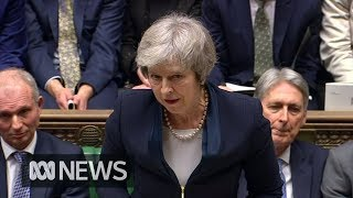 British Parliament overwhelmingly rejects Theresa May's Brexit deal | ABC News