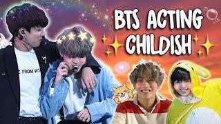 BTS INNOCENT & CHILDISH MOMENTS