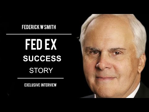 Exclusive Interview with Frederick W.Smith-Founder FedEx - YouTube
