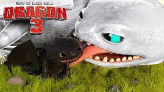 Como Treinar Seu Dragão 3 - FÚRIA DA NOITE BRANCA, Bebês Do Banguela! | How to Train Your Dragon 3