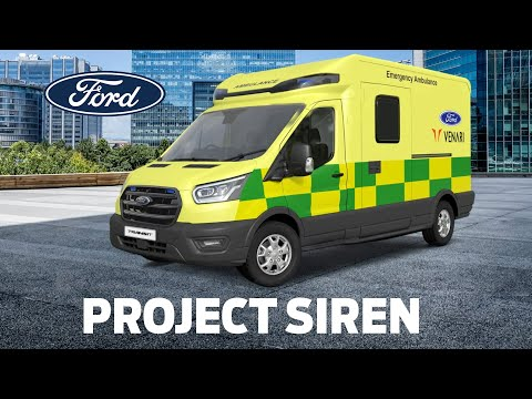 Project Siren: Ford and Venari Group Develop Lightweight Ambulance