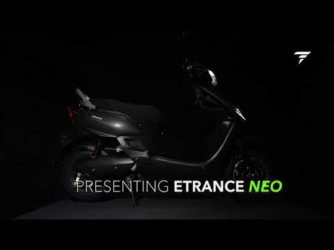 ETrance NEO | The Best Cost Innovative Electric Scooter | PURE EV