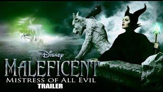 "MALEFICENT   ""Mistress of All Evil""   HD TRAILER   Angelina Jolie"