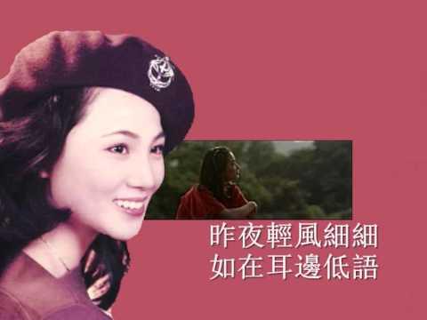 "Lawmovieworld 14 : (48)  鳳飛飛.. 自從與你相遇.. (電影""一颗红豆"" 插曲)"