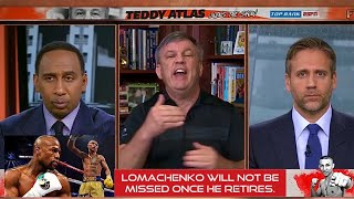 Vasyl Lomachenko will NOT be MISSED after STINKING Teofimo Fight, Floyd Mayweather Comparison: Atlas