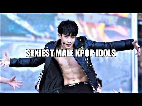 [TOP 25] Sexiest Male Kpop Idols